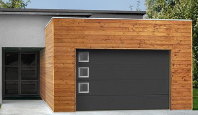 porte de garage novoferm sectionnelle menuiserie bouillot. Black Bedroom Furniture Sets. Home Design Ideas